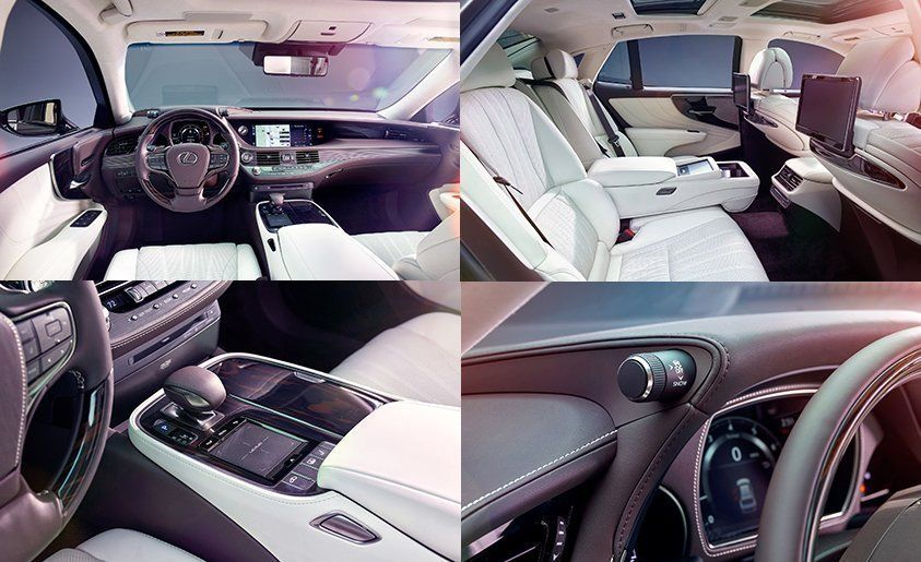2018 Lexus Ls500 Dissected Feature Car And Driver