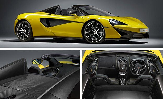 2018 Mclaren 570s Spider Photos And Info News Car And Driver
