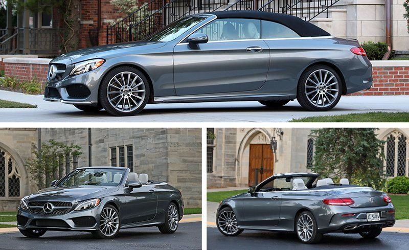 First Introduced For The 2017 Model Year C300 Cabrio Is Newest Member Of German Brand S Compact C Cl Family