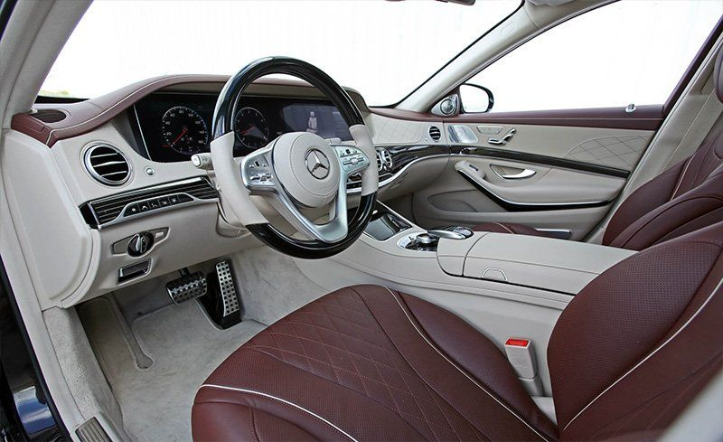 2018 Mercedes Benz S Class Interior Review Car And Driver