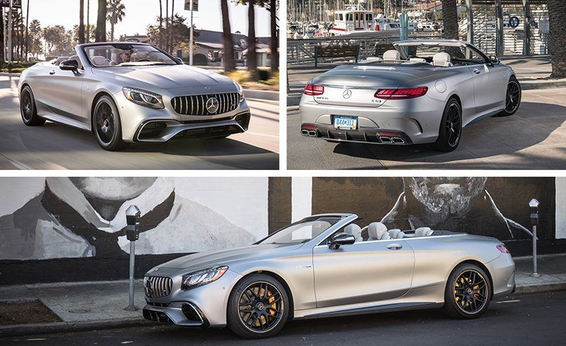 2018 Mercedes-Benz / Mercedes-AMG S-class Coupe and Cabriolet First ...