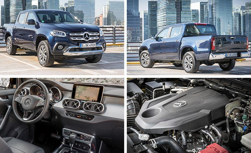 2018 Mercedes Pick Up Truck >> 2018 Mercedes Benz X Class Pickup First Drive Review Car And Driver