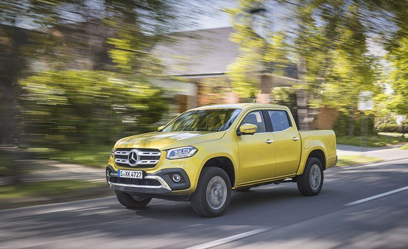 2018 Mercedes Benz X Cl Pickup First Drive Review Car And