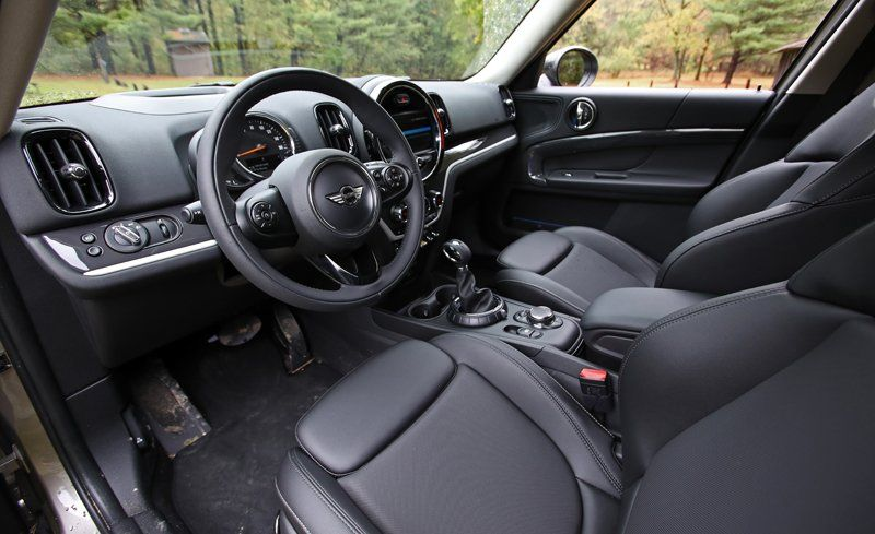 2018 Mini Cooper Countryman Interior And Penger E Review Car Driver