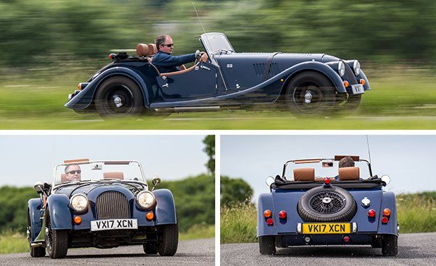 2018 Morgan 4 4 First Drive Review Car And Driver