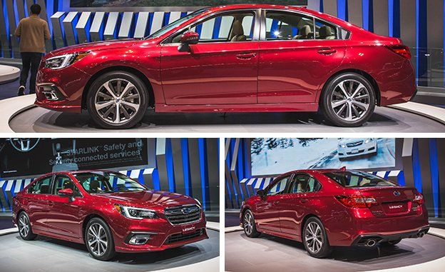 2018 Subaru Legacy Photos And Info News Car And Driver