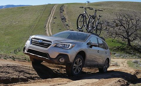2018 Subaru Outback Photos And Info News Car And Driver