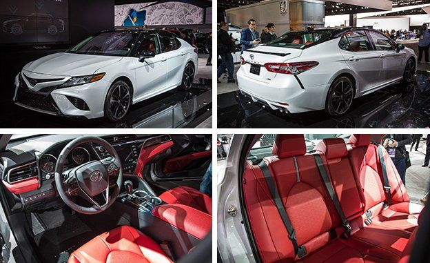 2018 Toyota Camry Exterior And Interior