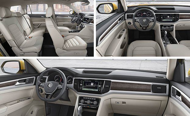 2018 Volkswagen Atlas Photos And Info News Car And Driver