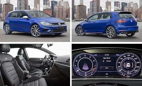 2018 volkswagen golf gti and golf r photos and info. Black Bedroom Furniture Sets. Home Design Ideas