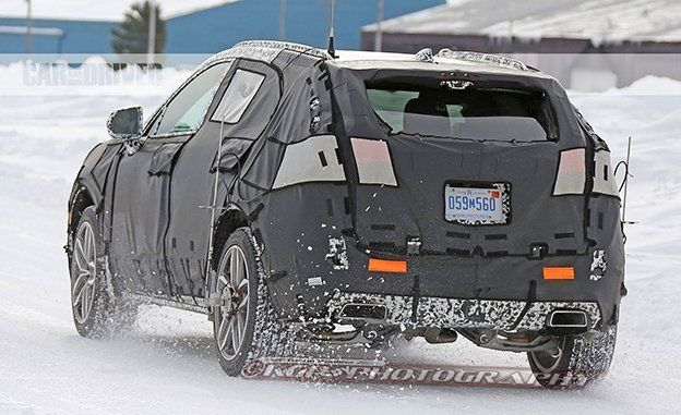 2018 Cadillac Xt4 Spy Photos News Car And Driver