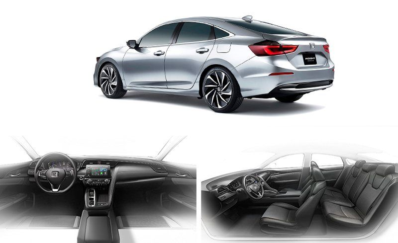 2019 Honda Insight Prototype A Civic Hybrid By Another Name