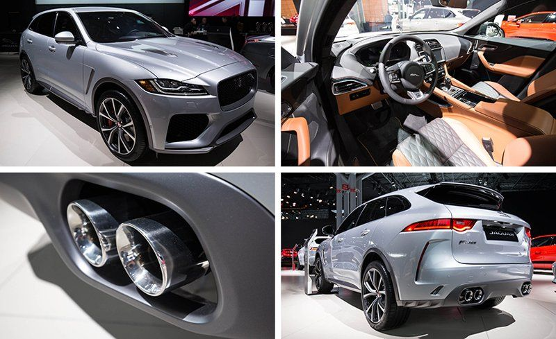 2019 Jaguar F Pace Svr Reviews Jaguar F Pace Svr Price Photos