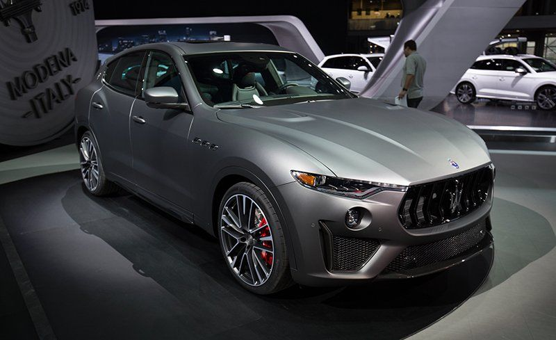 Maserati levante horsepower