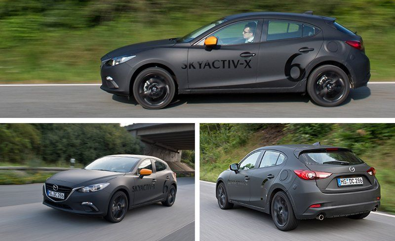 2019 Mazda 3 With Skyactiv X Compression Ignition Gas Engine Prototype Drive Review Car And Driver