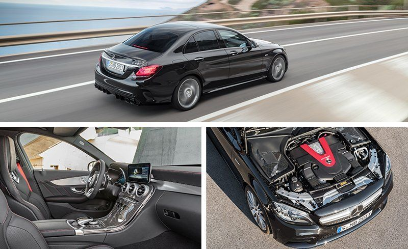 The Interior Also Gains New Trim And Upholstery Options A Redesigned Amg Steering Wheel