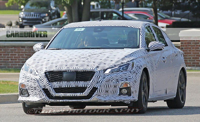 2019 Nissan Altima Spied News Car And Driver