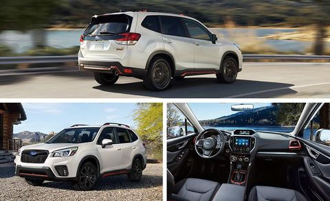 2019 Subaru Forester Pricing And Info Redesigned Awd Crossover
