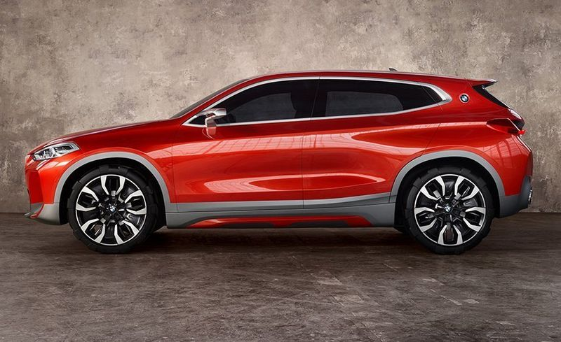 View 17 Photos BMW X2 Concept