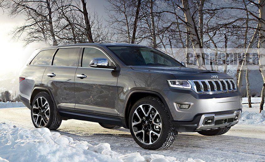 New jeep wagoneer 2017