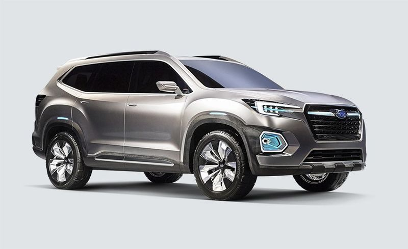 View 27 Photos Subaru Viziv 7 Suv Concept