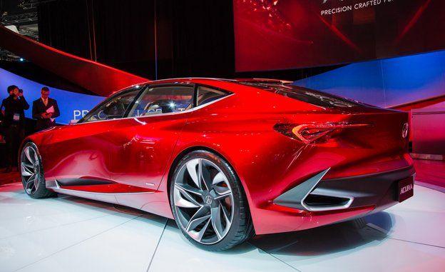 Acura Precision Concept Photos and Info | News | Car and Driver