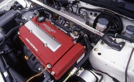 Acura Integra Type R Archived Test Review Car And Driver - Acura integra type r engine
