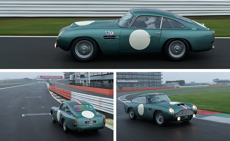 Aston Martin Db4 Gt Continuation Driven A Brand New Old Car