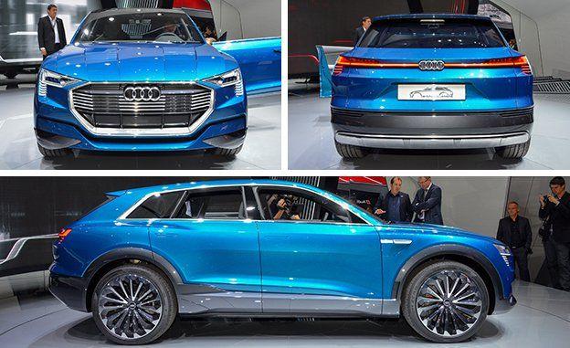 Audi Etron Quattro >> Audi E Tron Quattro Concept News Car And Driver