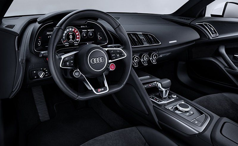 Audi R V RWS Official Photos And Info News Car And Driver - New audi r8 2018