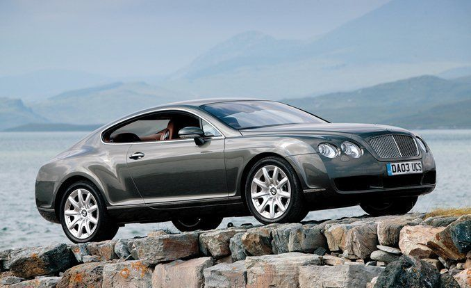 Who makes bentley motor cars
