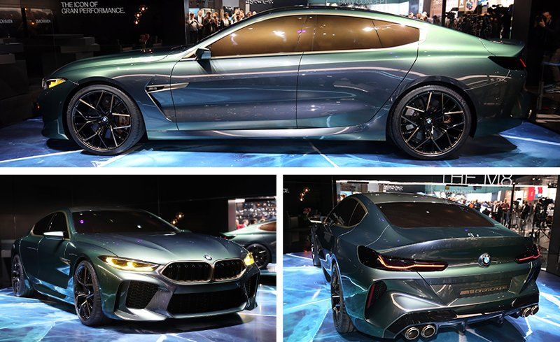 BMW M8 Gran Coupe Concept Revealed | News | Car and Driver