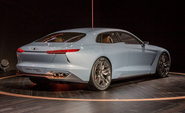 Genesis Hybrid Sports Sedan Concept Revealed News Car And Driver