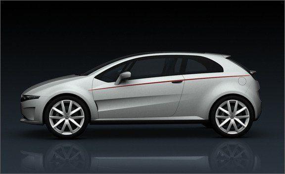 Italdesign Giugiaro Volkswagen Go And Tex Concepts