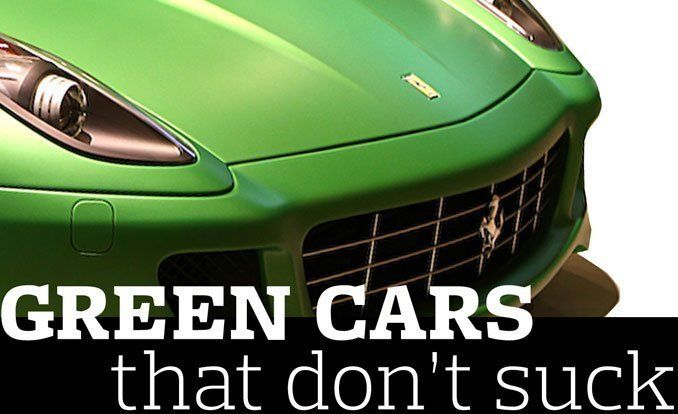 Green Cars That Don\'t Suck | Feature | Car and Driver