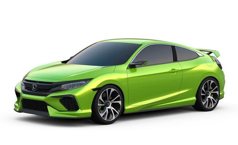 View 28 Photos Honda Civic Coupe Concept