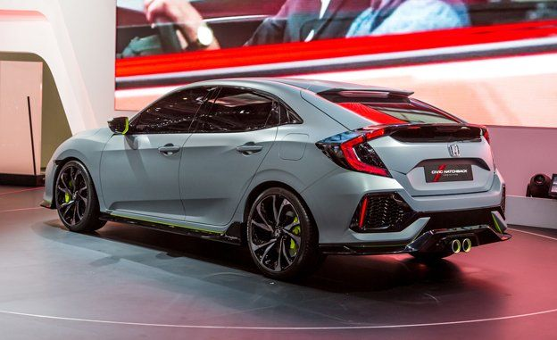 Honda Civic Hatchback Concept Photos And Info News Car And Driver