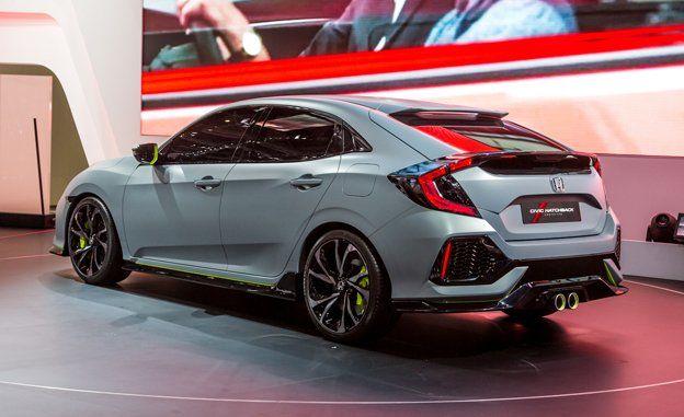 Honda civic hatch price