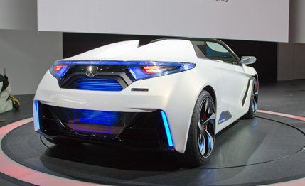 Honda EVSTER Small Sports Car Concept ndash News ndash Car