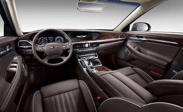 Attractive Genesis Applied The Same Restraint To The G90u0027s Interior, And A Preliminary  List Of Features Suggest A Lavish Environment. There Is A 12.3 Inch  Wide Screen ...