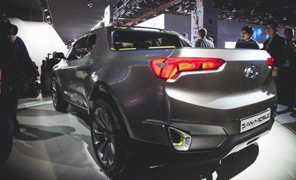 Hyundai Santa Cruz Pickup Truck Revealed Diesel Powered And Super