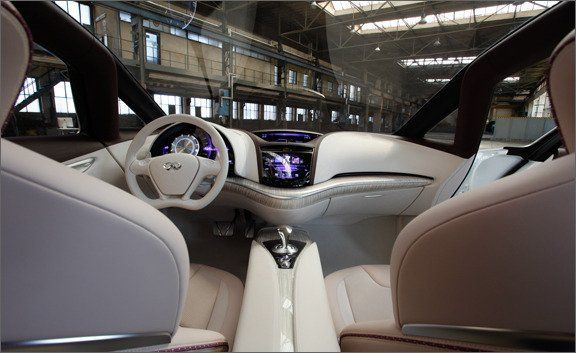 Infiniti Etherea Concept Drive Ndash Review Ndash Car And Driver