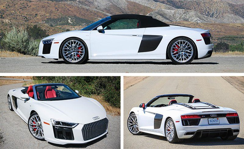 Audi R V Spyder Autonews And Cars Reviews - Audi r8 v10 spyder