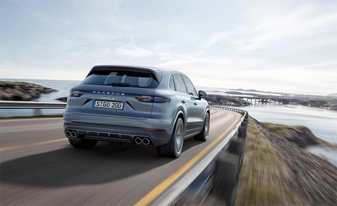 Comes From Several New Engines Developed In Cooperation With Audi The Base Cayenne A Single Turbo 340 Hp 3 0 Liter V 6 Zero To 60 Mph