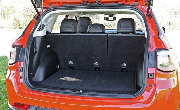 Jeep compass cargo space