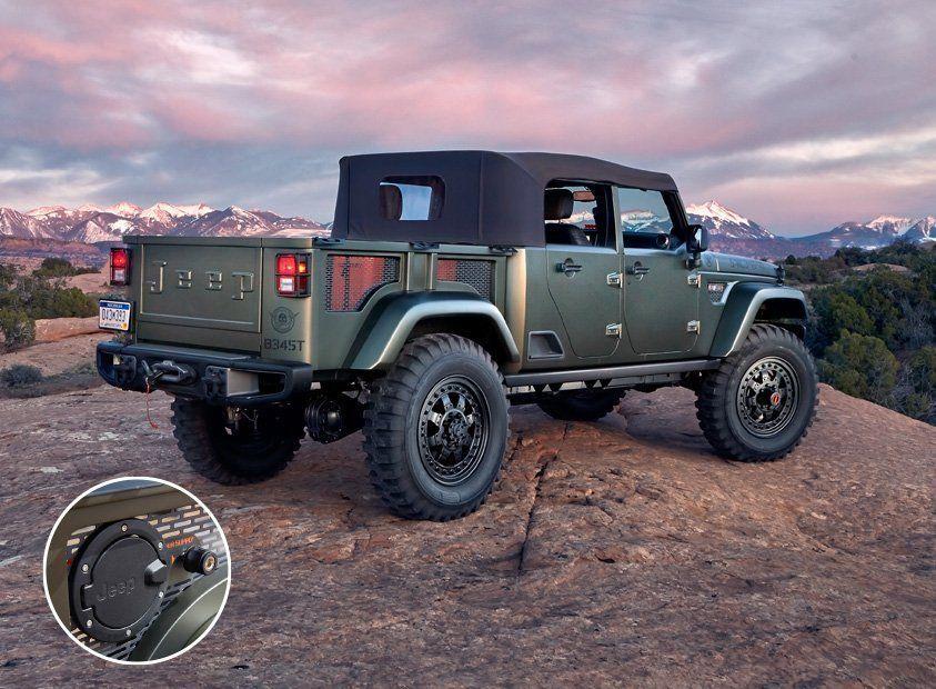 Jeep crew chief 715 price