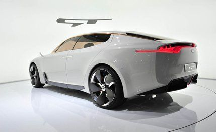 Kia GT Concept Debuts in Frankfurt | News | Car and Driver