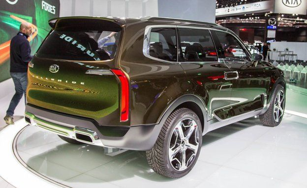 Kia Telluride Concept Photos And Info News Car And Driver