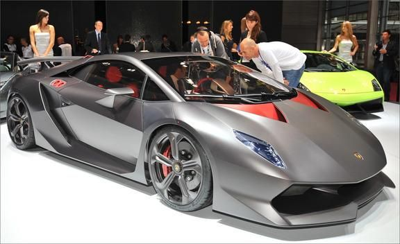 Paris Auto Show: The Future of the Supercar