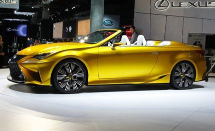 Lexus LF C2 Concept: A Preview Of The RC Convertible | News | Car And Driver